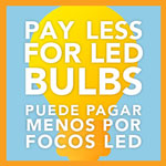 Pay less for LED bulbs