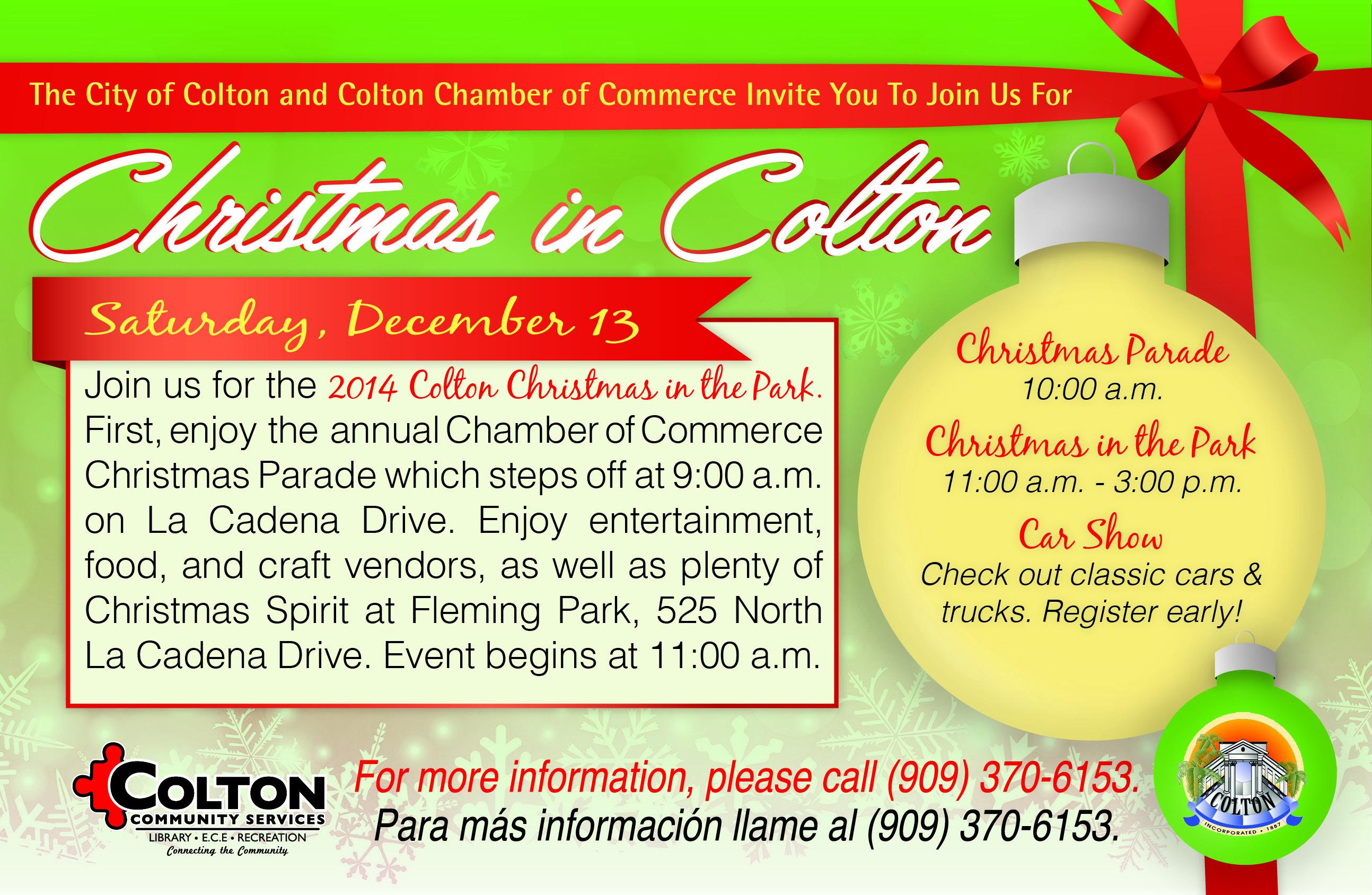 Colton Christmas Parade 2020 Colton, CA   Official Website