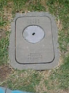 A ground-based water meter