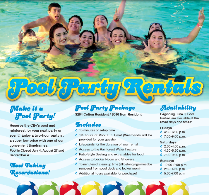 Pool Party Rentals